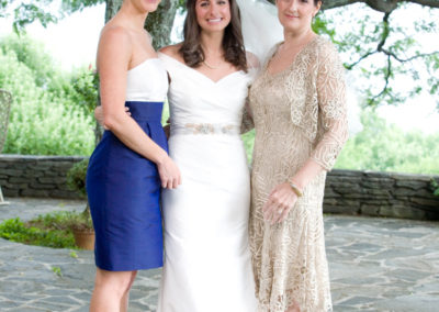 Courtney and Jake Wedding Roaring Gap NC