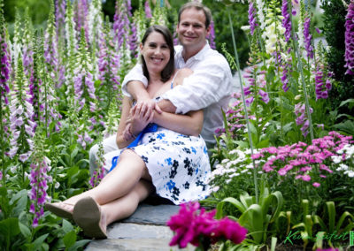 Regina & Chris E-Session at Duke Gardens