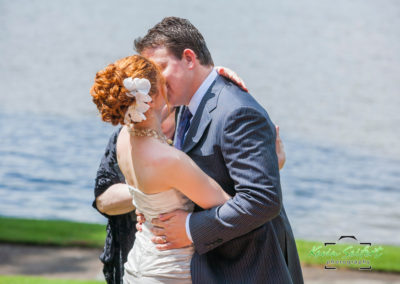 Erin and Tyler Wedding Ceremony at Sunset Lake 05.28.11