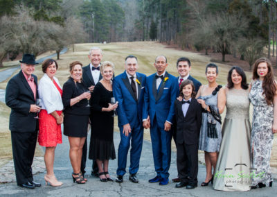 Carlos + Chad Wedding at Hope Valley Country Club